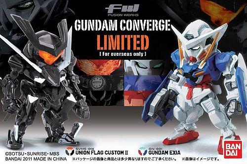 bandai kidou_senshi_gundam_00 gn-001_gundam_exia svms-01x_union_flag_custom_ii fw_gundam_converge