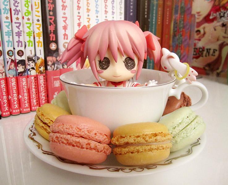 nendoroid good_smile_company broccoli kyuubey takano_meishi mahou_shoujo_madoka★magica kaname_madoka aniplex cup_&_saucer miki_sayaka