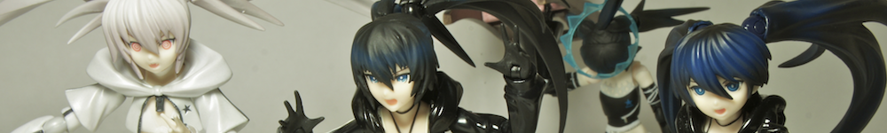 figma huke max_factory good_smile_company asai_(apsy)_masaki black_★_rock_shooter white_★_rock_shooter black_★_rock_shooter_-_the_game