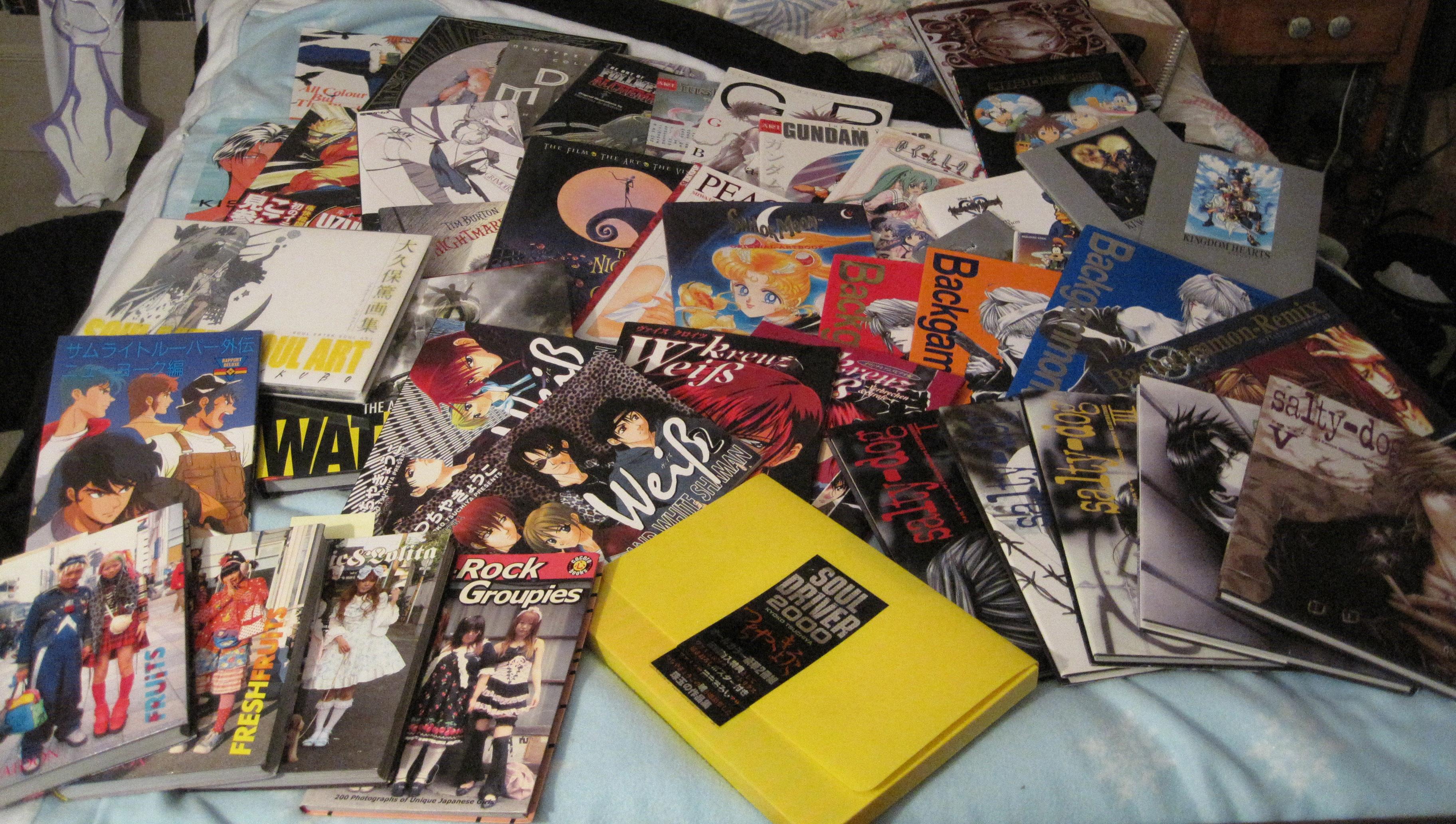 gainax square_enix kingdom_hearts bleach death_note artbook soul_eater naruto hagane_no_renkinjutsushi wild_adapter kingdom_hearts_ii higurashi_no_naku_koro_ni ascii_media_works shin_seiki_evangelion shueisha square digicube kadokawa nomura_tetsuya khara bishoujo_senshi_sailor_moon soft_cover gakken fushigi_no_umi_no_nadia sadamoto_yoshiyuki kodansha 07th_expansion ichijinsha takeuchi_naoko amano_shiro shin_kidou_senki_gundam_wing gensou_maden_saiyuki arakawa_hiromu hikaru_no_go fushigi_yuugi kubo_tite shogakukan the_walt_disney_company higurashi_no_naku_koro_ni_kai biblos watase_yuu obata_takeshi kishimoto_masashi viz_media_llc studio_dna yoshitsune-ki minekura_kazuya saiyuki_gaiden nier_replicant nier_gestalt saiyuki_reload ookubo_atsushi bus_gamer weiß_kreuz kingdom_hearts_final_mix hachi_no_su getbackers_-dakkanya- ayamine_rando haru_wo_daite_ita ouritsu_uchuugun:_oneamisu_no_tsubasa hard_cover