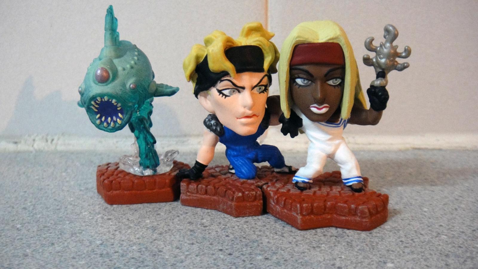 jojo_no_kimyou_na_bouken tokimeki.com chara_heroes squalo clash tizziano talking_head