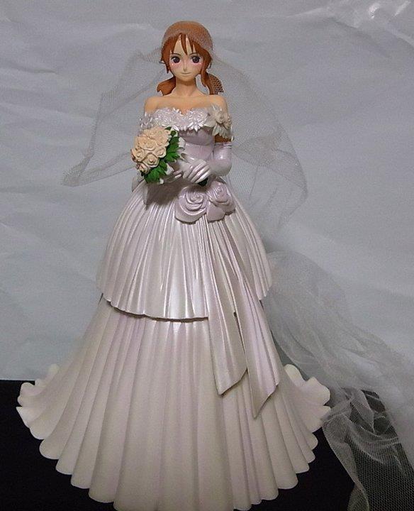 wedding_dress figure custom nami straw_hat_pirates