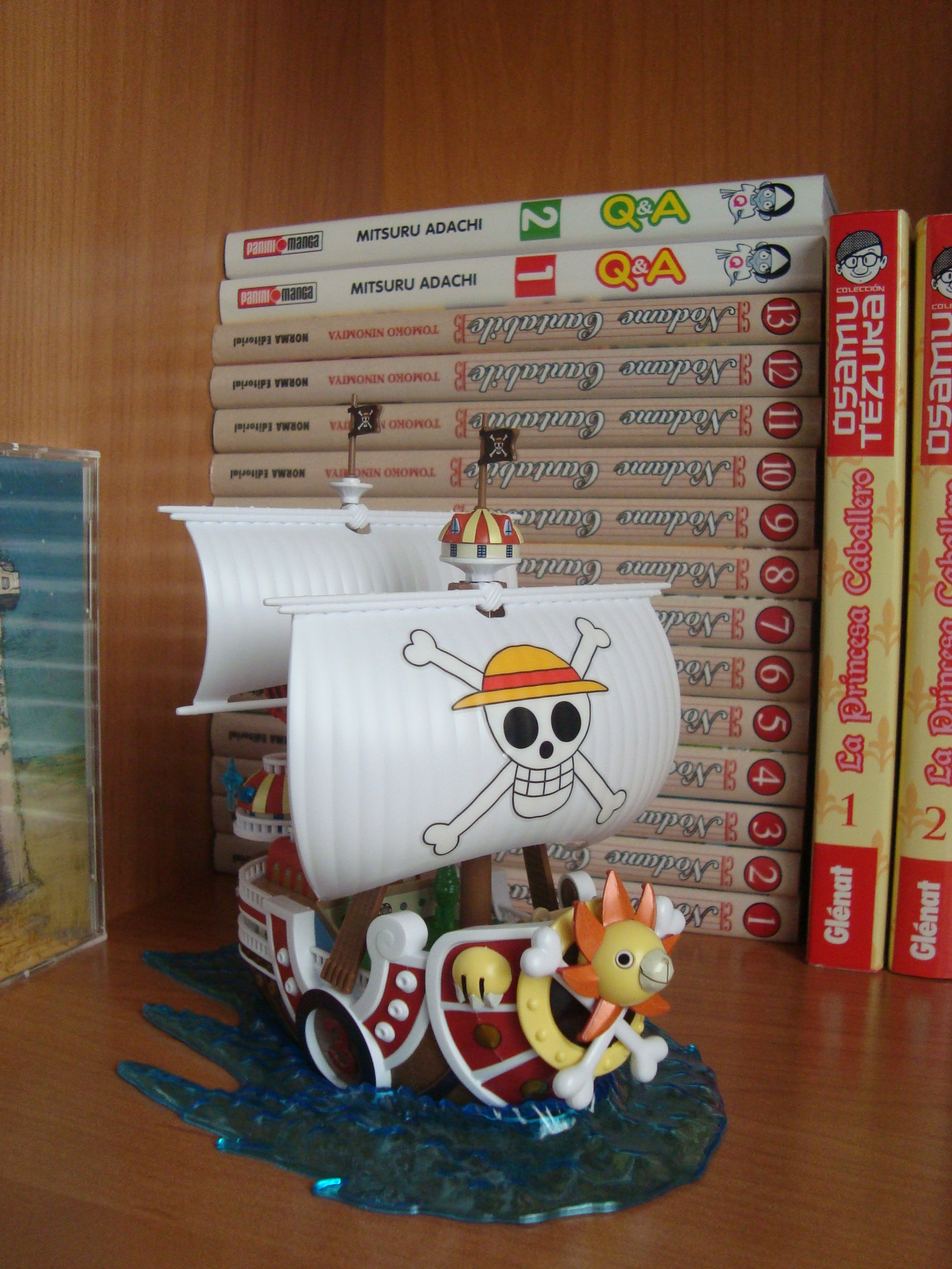 one_piece bandai thousand_sunny one_piece_grand_ship_collection