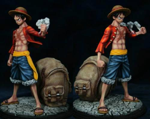 strawhat one_piece custom monkey_d._luffy mugiwara gear_second timeskip