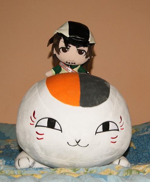 gift alter natsume_yuujinchou aoshima skynet altair madara_(nyanko-sensei) tiger_&_bunny midorikawa_yuki kaburagi_t._kotetsu character_plush_series