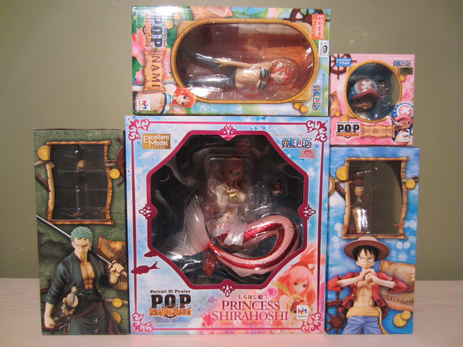 "megahouse one_piece nami monkey_d._luffy excellent_model roronoa_zoro tony_tony_chopper shueisha ajiken oda_eiichiro attm toei_animation portrait_of_pirates_""sailing_again"" shirahoshi ishiyama_yuuki"