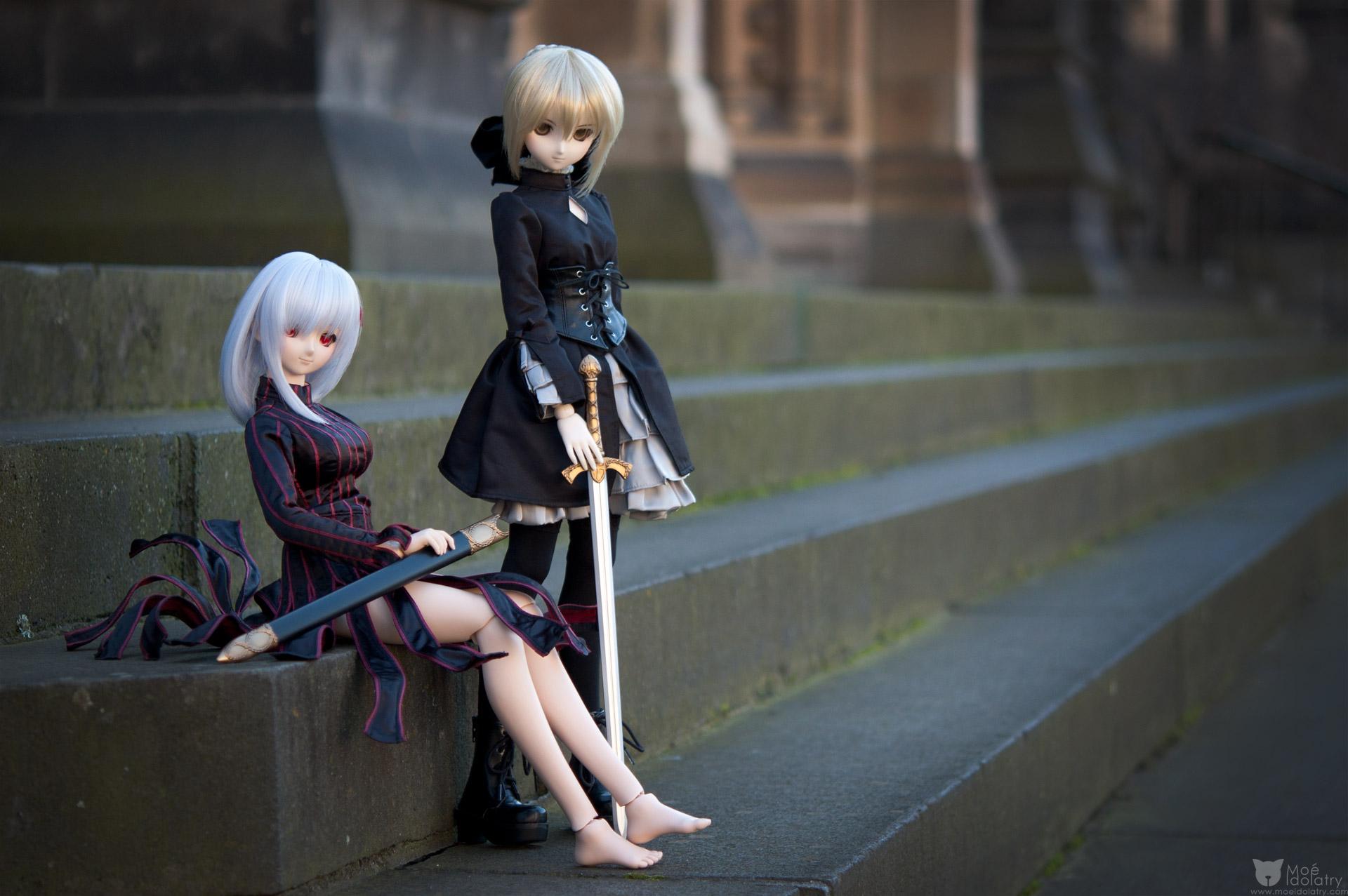 volks dollfie_dream type_moon saber_alter matou_sakura fate/hollow_ataraxia zoukei-mura doll_clothes misaki_serika