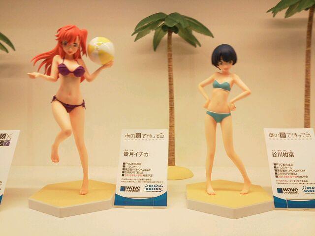 wave beach_queens hokusoh ano_natsu_de_matteru takatsuki_ichika tanigawa_kanna beach_queens_ornament