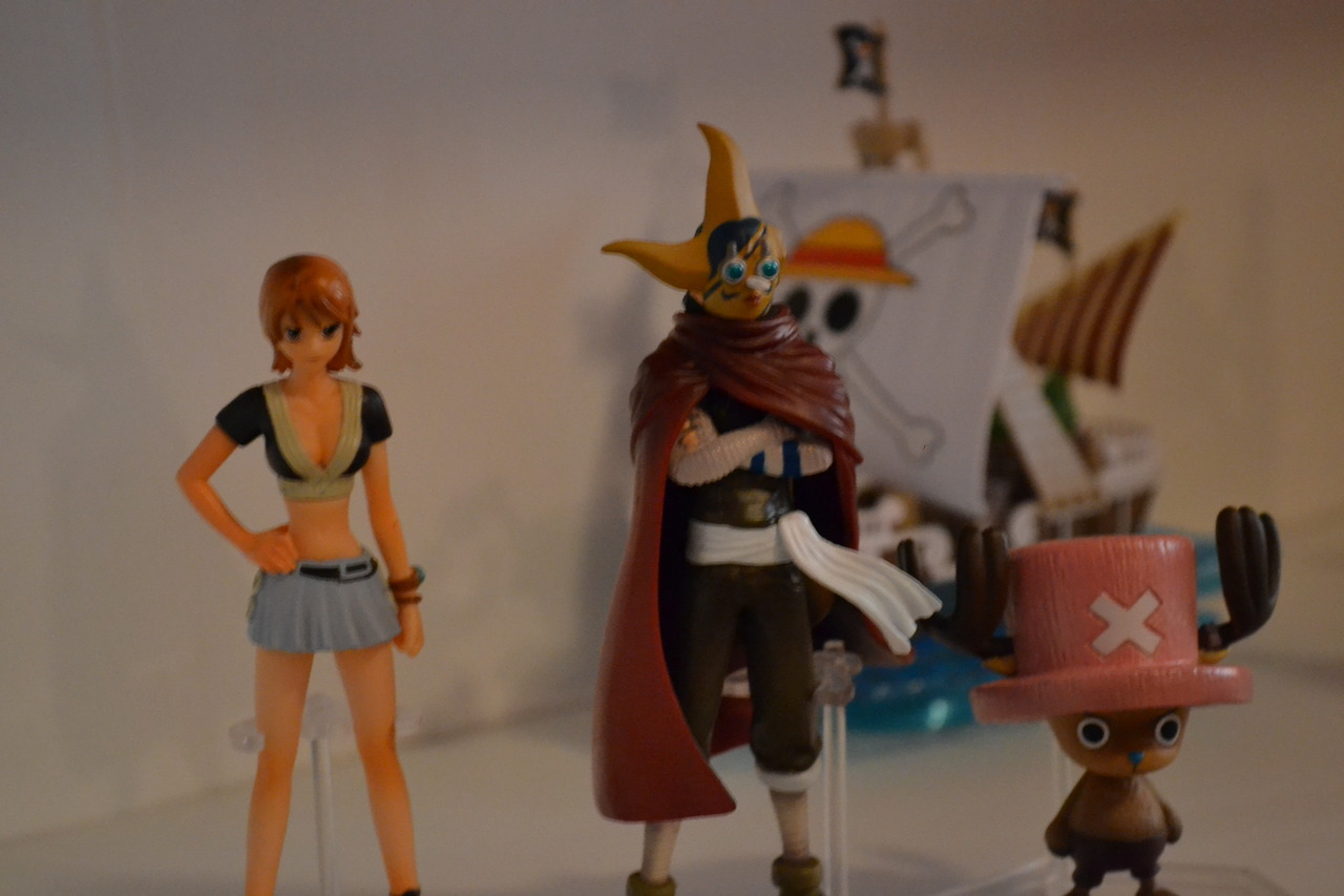 one_piece banpresto nami bandai sogeking tony_tony_chopper going_merry one_piece_grand_ship_collection