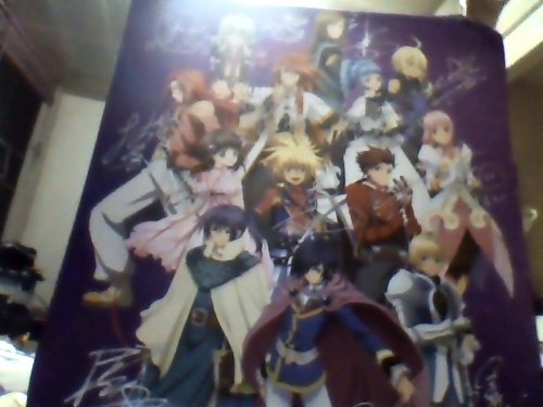 tales_of_vesperia poster tales_of_the_abyss flynn_scifo tales_of_destiny_2 kyle_dunamis tales_of_xillia tales_of_symphonia zelos_wilder estellise_sidos_heurassein tales_of_destiny lion_magnus jade_curtiss reala lloyd_irving tales_of_eternia tales_of_innocence tales_of_symphonia:_ratatosuku_no_kishi emil_castagnier tipo elise_lutus ange_serena keel_zeibel tales_of_festival_2012 luke_fone_fabre bandai_namco_entertainment_inc.