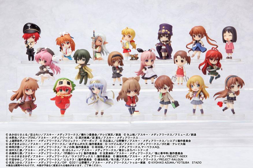 ichigo_mashimaro shana holo azumanga_daioh shakugan_no_shana pastel misaka_mikoto aisaka_taiga ookami_to_koushinryou sakuya to_aru_kagaku_no_railgun toradora! ascii_media_works kino kousaka_kirino hoihoi-san to_aru_majutsu_no_index ore_no_imouto_ga_konna_ni_kawaii_wake_ga_nai toy's_works gunslinger_girl kasuga_ayumu niitengo ichigeki_sacchu!!_hoihoi-san_legacy matsuoka_miu misha henrietta kino_no_tabi_-the_beautiful_world- pita-ten sister_princess kemeko_deluxe! emu_emu bakuretsu_hunters chocolate_misu elf_wo_karu_mono-tachi index_librorum_prohibitorum inoue_ritsuko legend_of_crystania cher fortune_quest_l baby_princess_3d_paradise_0_[love] amatsuka_hikaru heroine_blitz_figure_collection boogiepop_wa_warawanai boogiepop