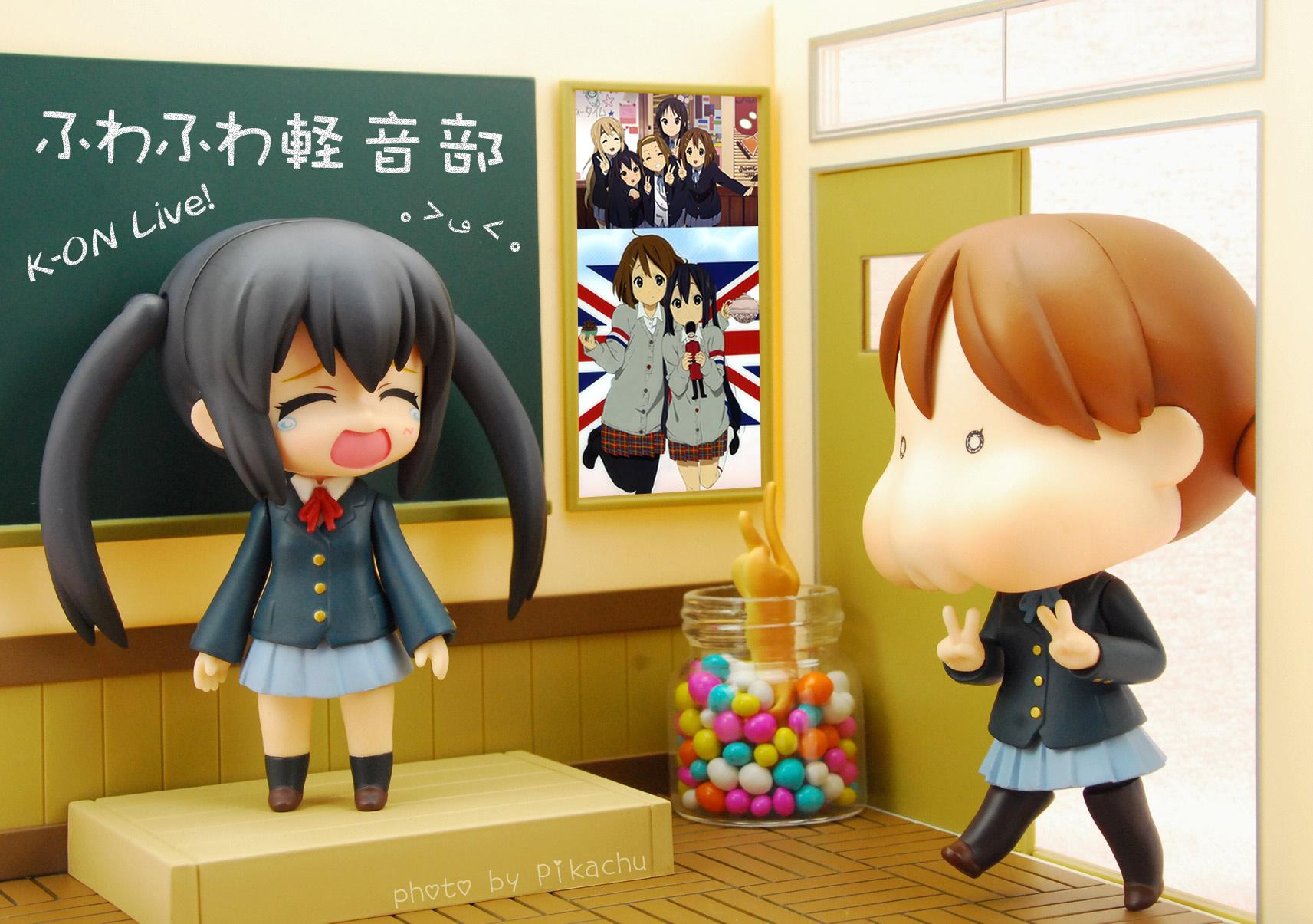 nendoroid k-on! good_smile_company hirasawa_yui nakano_azusa shishidou_imoko sora_o_kakeru_shoujo phat_company nendoroid_playset nendoron udono_kazuyoshi ageta_yukiwo maruhige kyoto_animation k-on!_(movie)