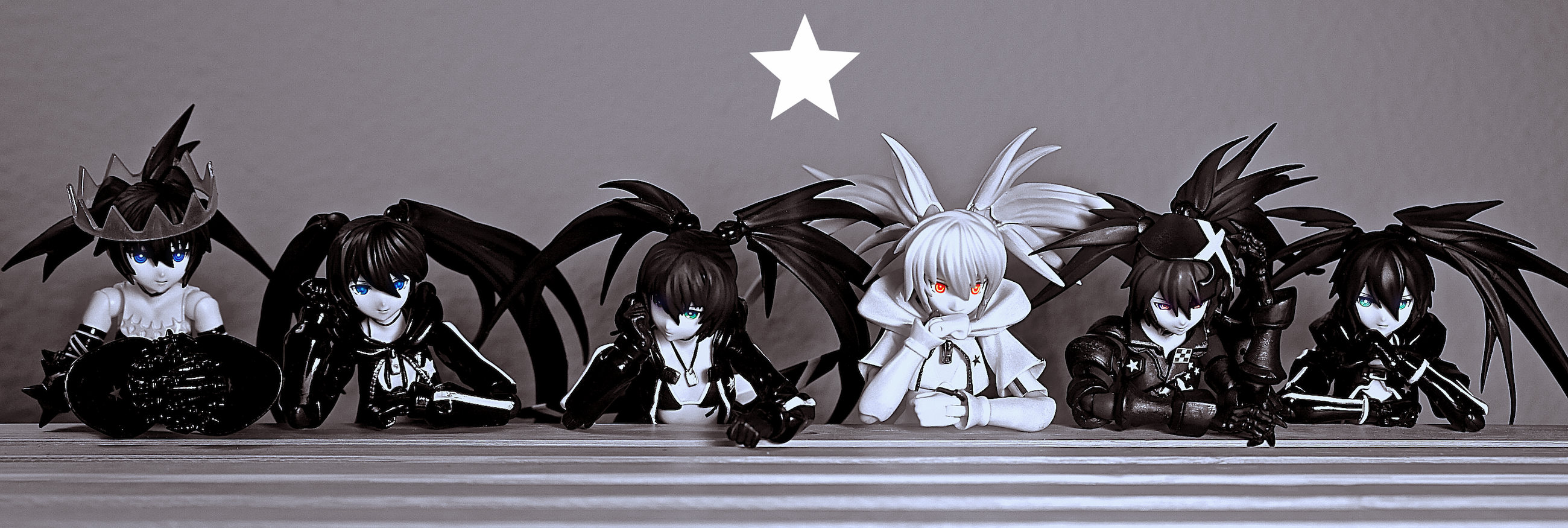figma huke max_factory good_smile_company asai_(apsy)_masaki black_★_rock_shooter white_★_rock_shooter insane_black_★_rock_shooter black_★_rock_shooter_-_the_game