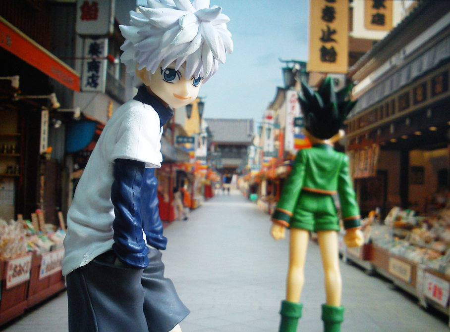 banpresto hunter_x_hunter dx_figure gon_freecss killua_zoldyck