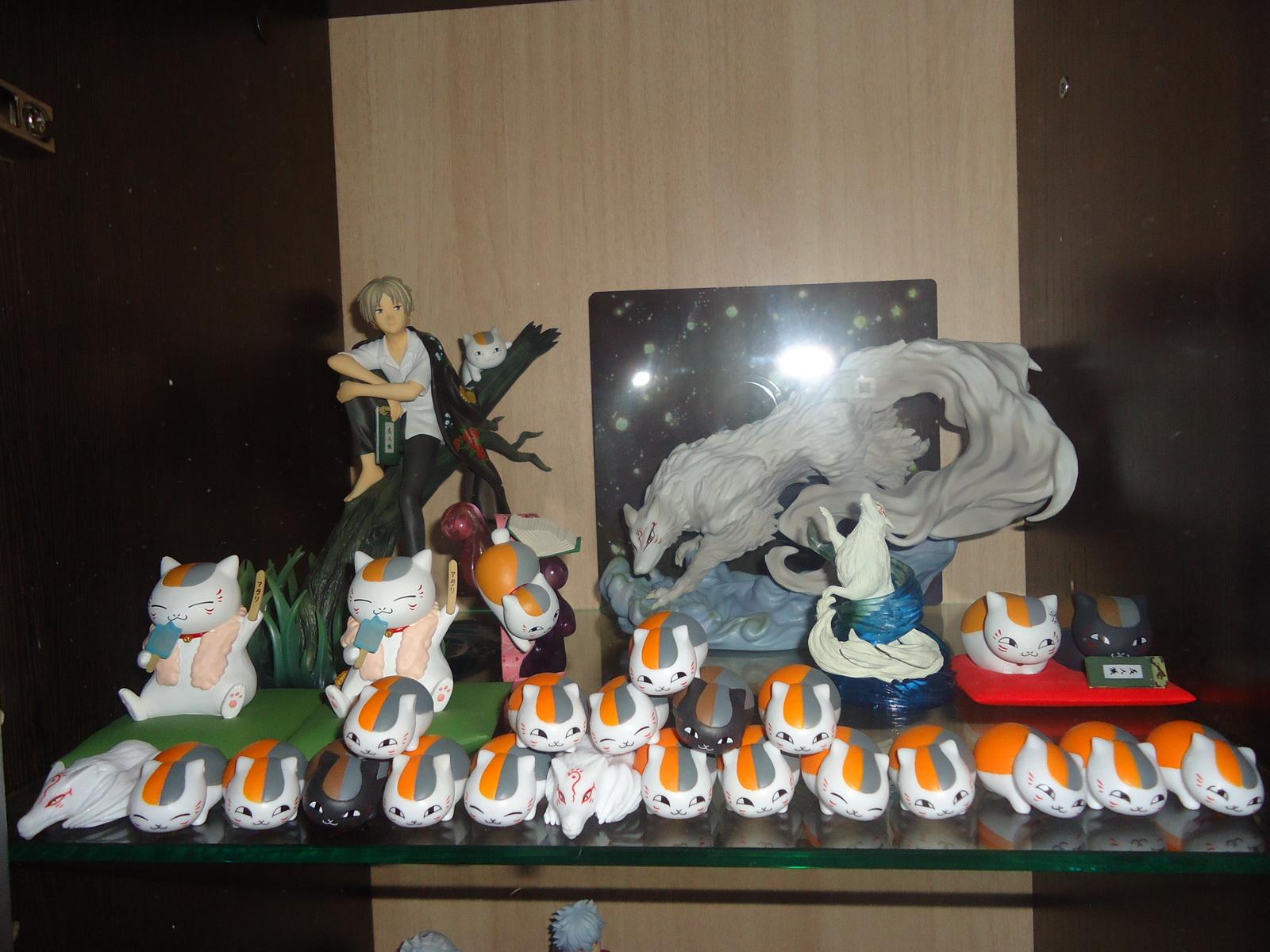 alter banpresto natsume_yuujinchou natsume_takashi plex ichiban_kuji altair mirano madara_(nyanko-sensei) moriwaki_naoto riou_(black_nyanko) natsume_yuujinchou_san tsumicolle ichiban_kuji_natsume_yuujinchou_tribute_gallery_~under_the_stars~