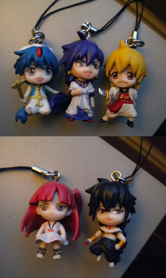 bandai aladdin magi_-_labyrinth_of_magic judal morgiana alibaba_saluja sinbad magi_strap