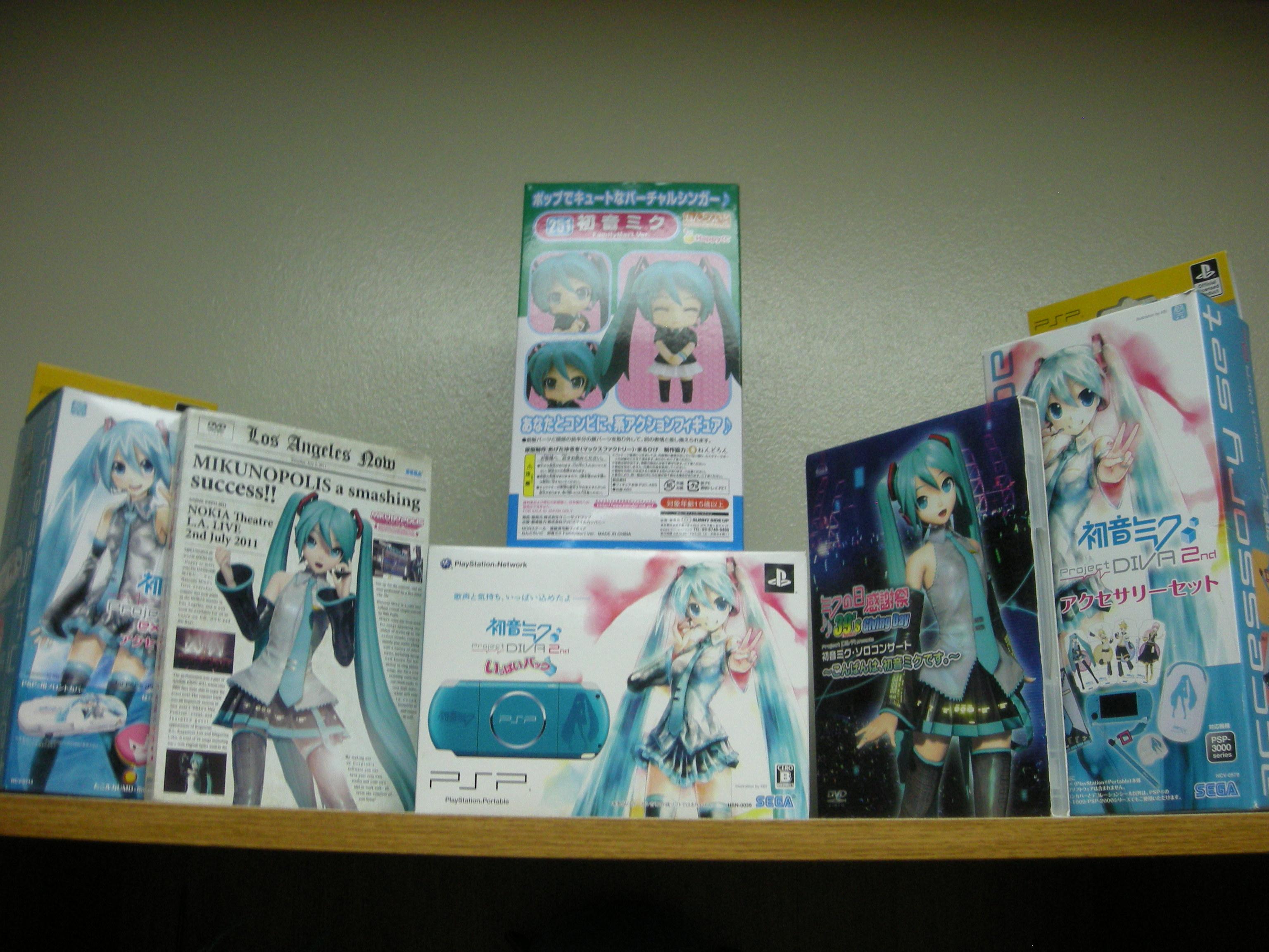 vocaloid sega megurine_luka hatsune_miku kagamine_len kagamine_rin album crypton_future_media geneon_entertainment blu-ray