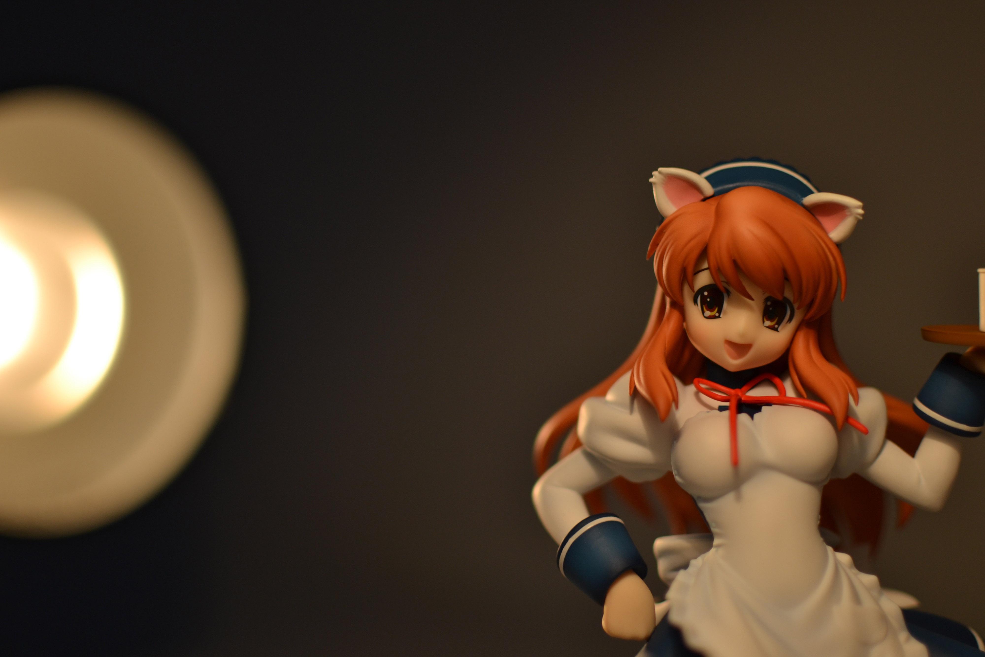 maid cat_ears waitress max_factory asahina_mikuru suzumiya_haruhi_no_yuuutsu chieri