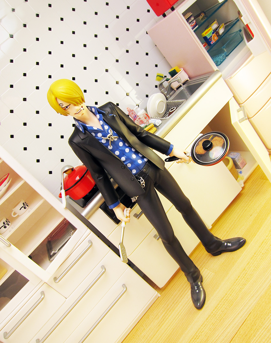 megahouse one_piece sanji excellent_model iwamoto_kunihito portrait_of_pirates_strong_edition