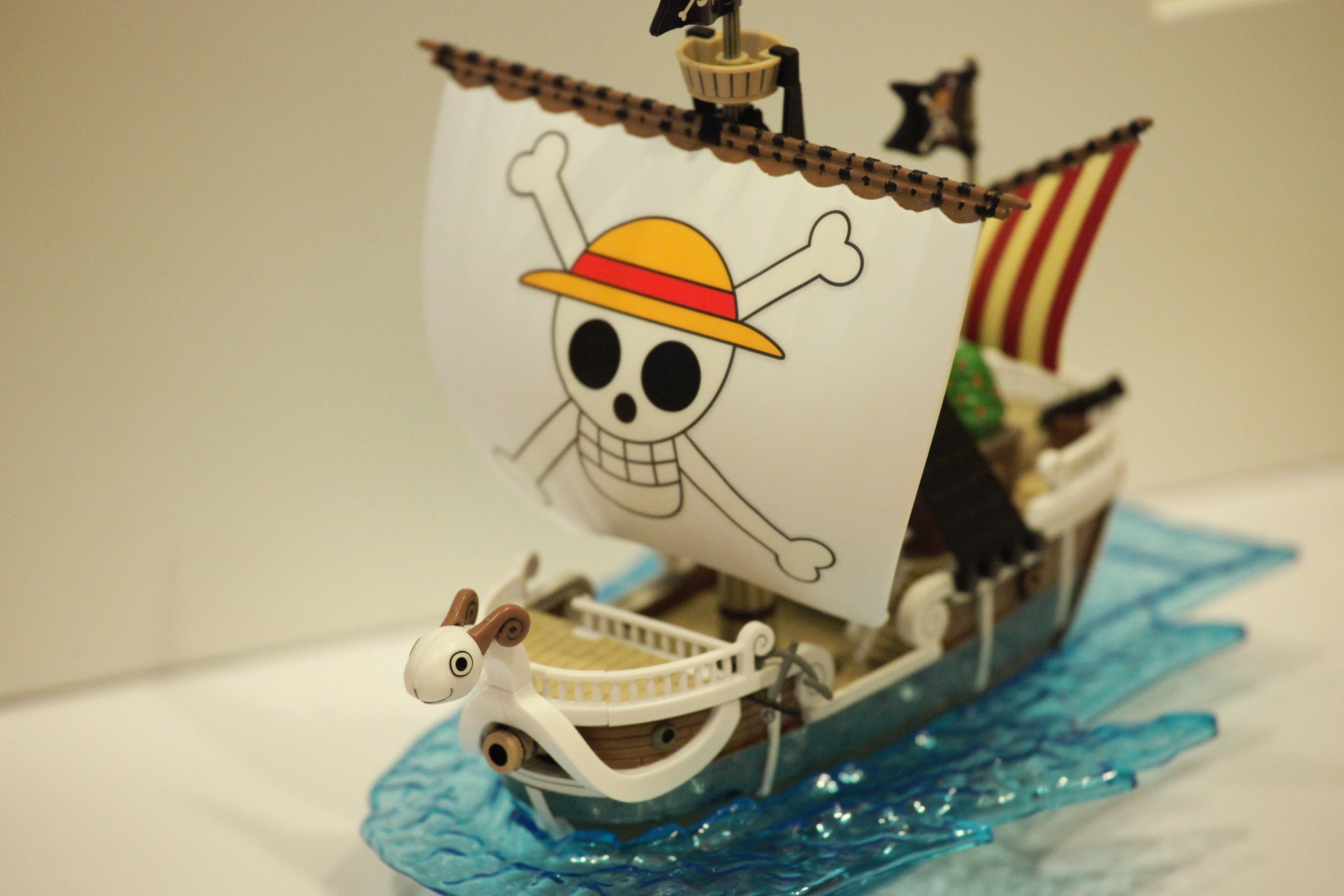 one_piece bandai going_merry one_piece_grand_ship_collection