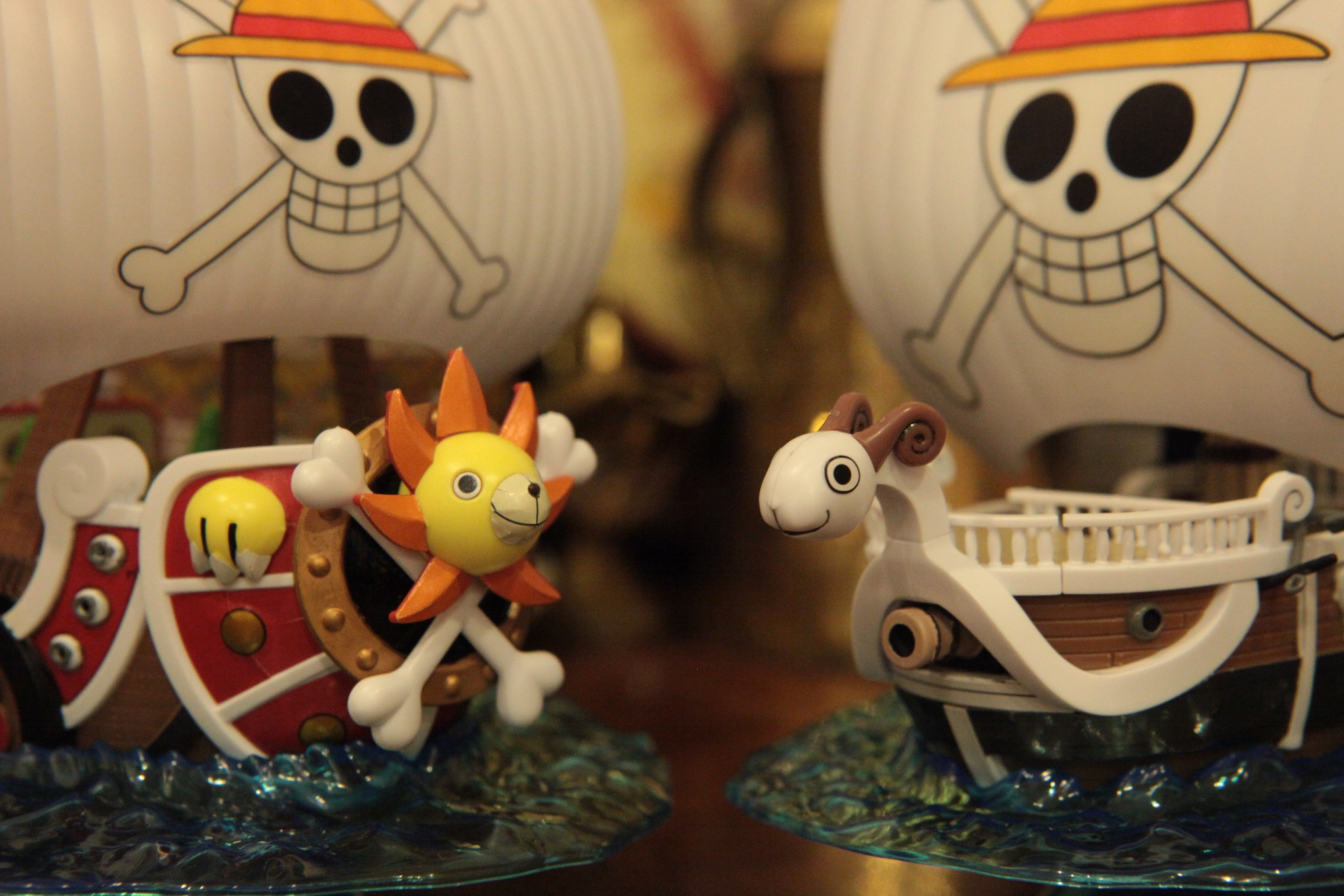one_piece bandai thousand_sunny going_merry one_piece_grand_ship_collection