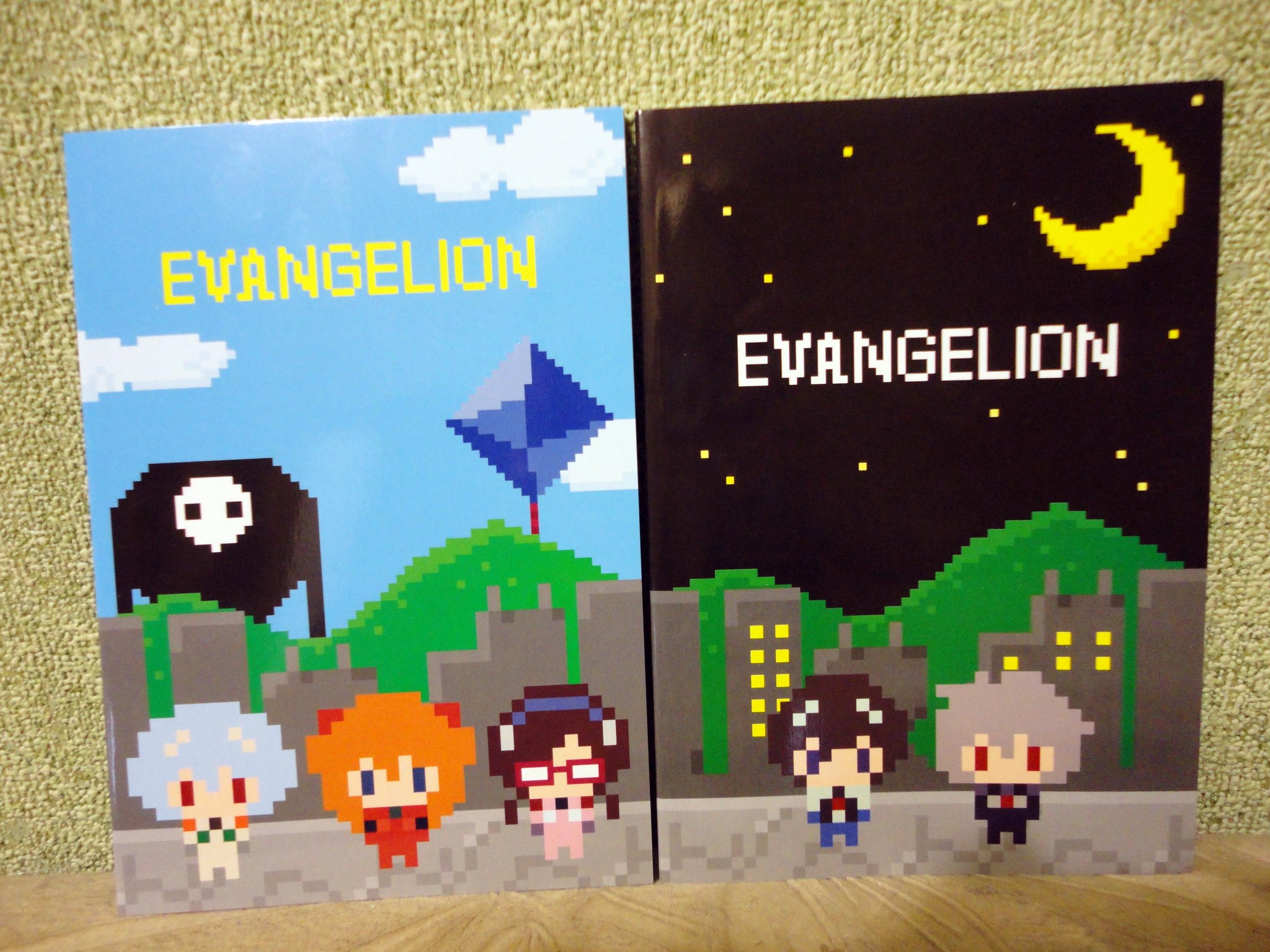 notebook ayanami_rei makinami_mari_illustrious souryuu_asuka_langley movic ikari_shinji evangelion_shin_gekijouban nagisa_kaworu