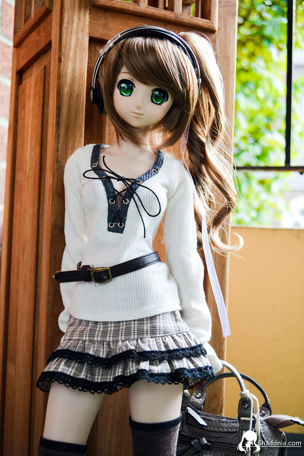 volks dollfie_dream takamachi_nanoha zoukei-mura doll_clothes misaki_serika mahou_shoujo_lyrical_nanoha_strikers tenshi-no-koromo