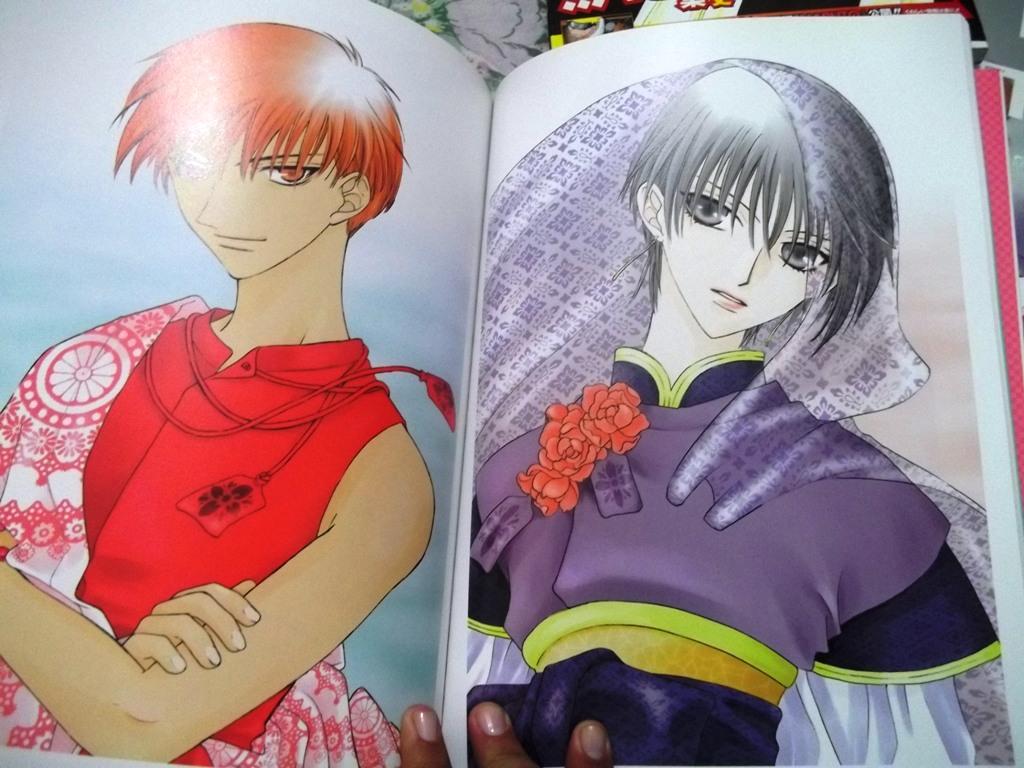 artbook fruits_basket hakusensha takaya_natsuki