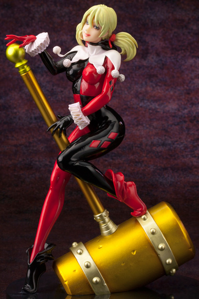 kotobukiya batman dc_comics yamashita_shunya harley_quinn bishoujo_statue akihiro_takahashi dc_comics_bishoujo