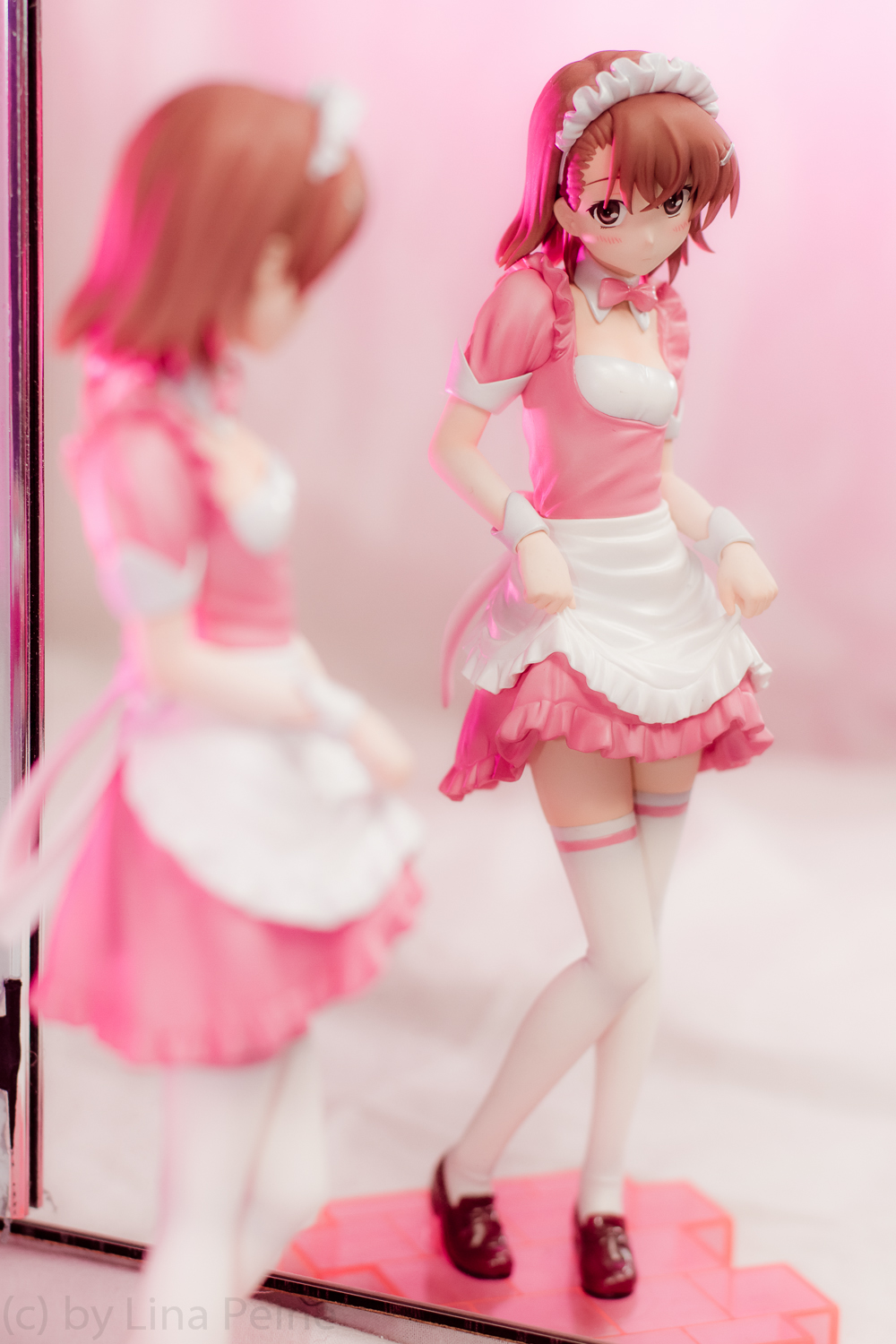 maid kotobukiya misaka_mikoto to_aru_kagaku_no_railgun zenko 4-leaves