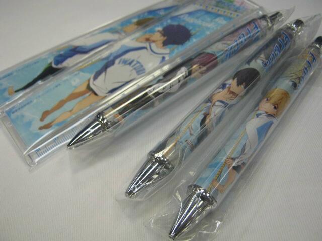 ruler ball_pen contents_seed nanase_haruka free! tachibana_makoto matsuoka_rin hazuki_nagisa ryuugazaki_rei