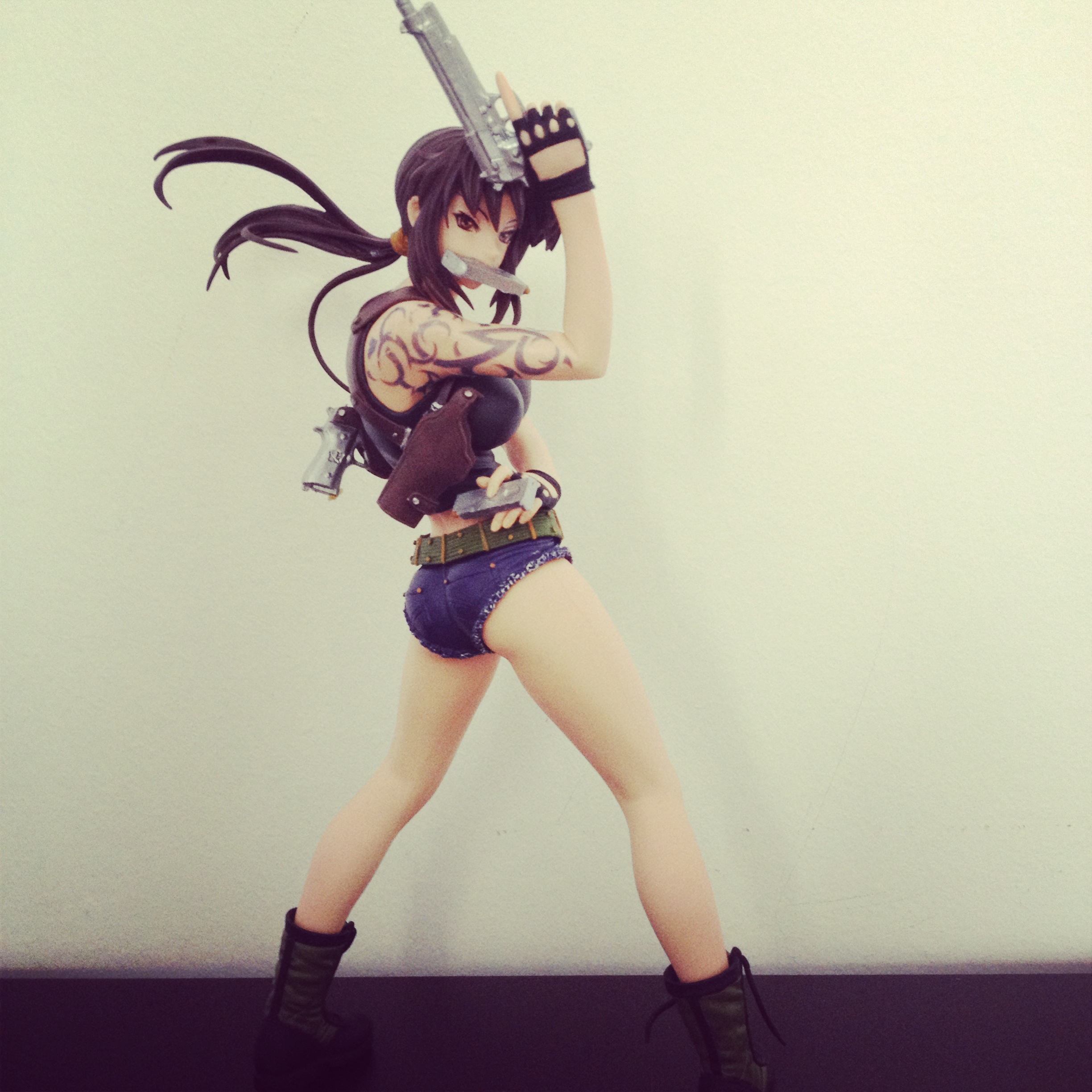 pirate guns tattoo volks revy garage_kit black_lagoon resin_kit