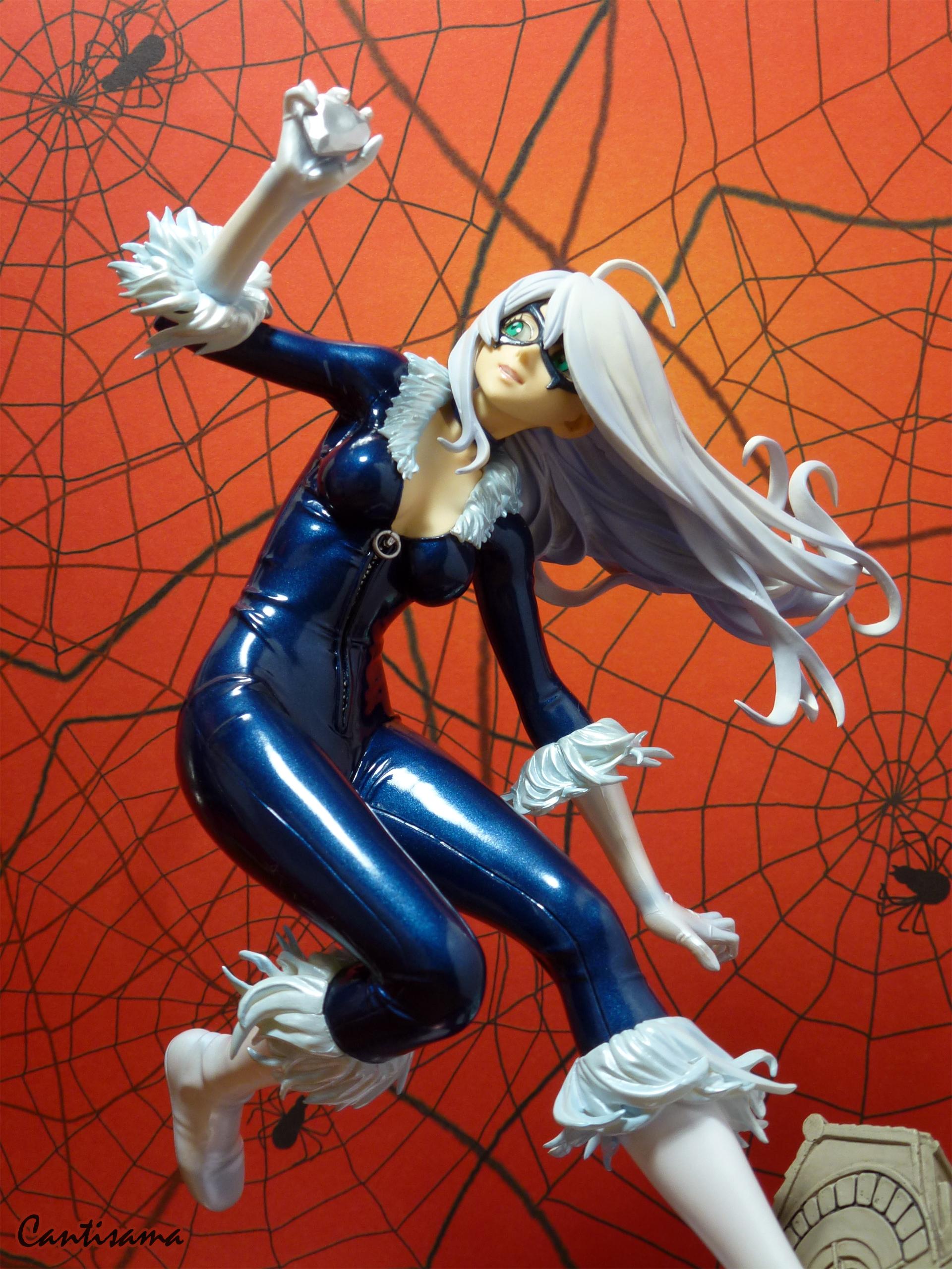 cat kotobukiya black_cat spider-man yamashita_shunya marvel_x_bishoujo bishoujo_statue tsukada_takashi