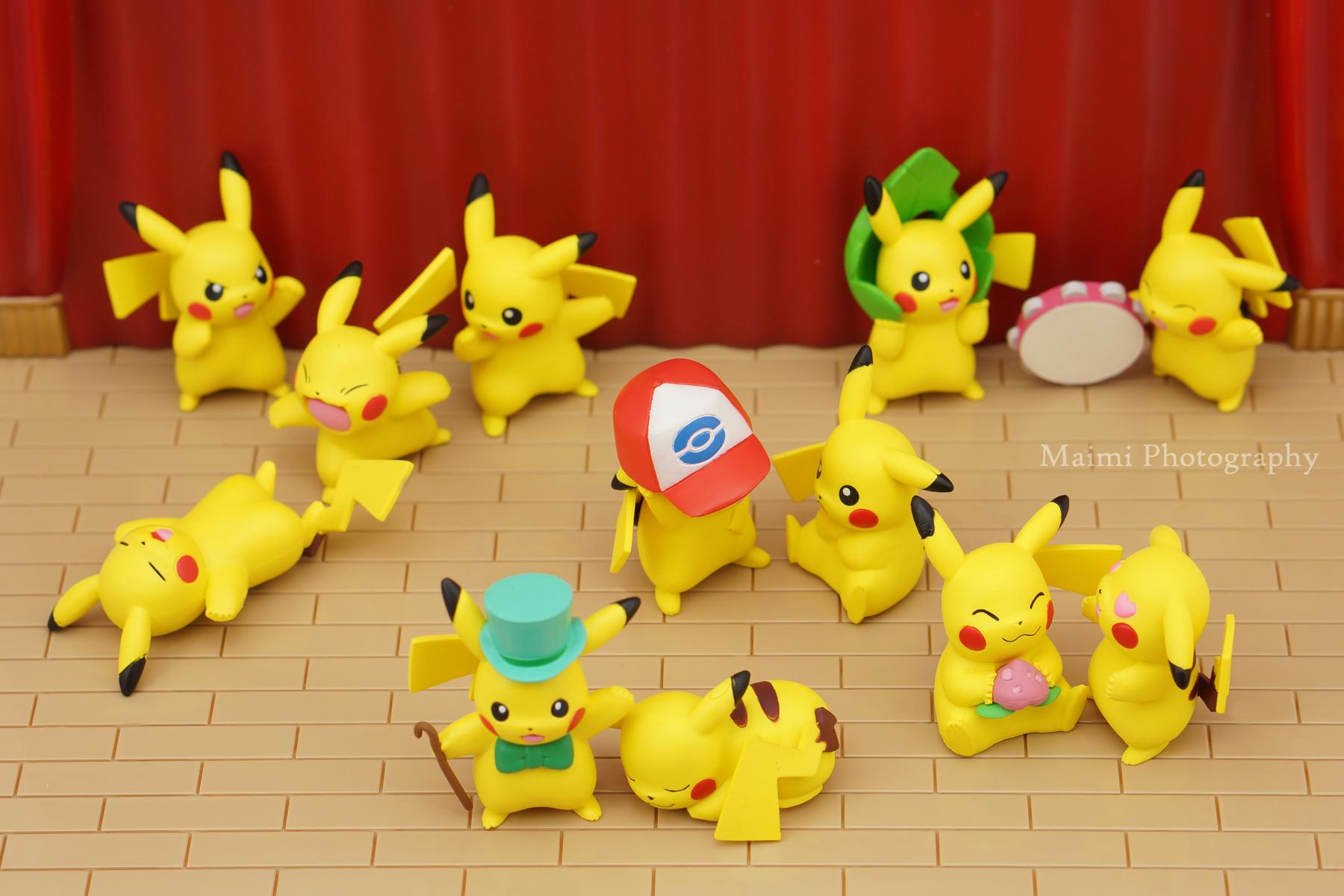 nintendo pikachu takara_tomy_a.r.t.s pocket_monsters_best_wishes! pokemon_bw__pikachu_ippai_collection pokemon_bw_pikachu_ippai_collection_part.2
