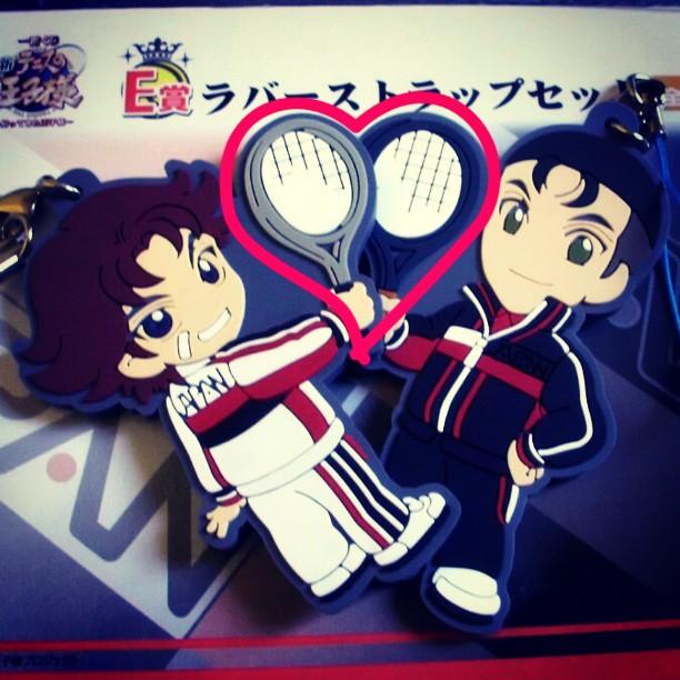 banpresto ichiban_kuji rubber_strap kikumaru_eiji shin_tennis_no_ouji-sama ichiban_kuji_shin_tennis_no_ouji-sama_~kaettekita_ouji-sama~ ooishi_shuuichirou