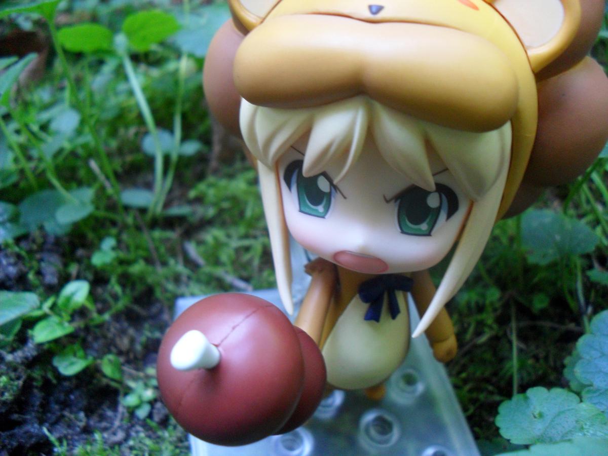 nendoroid capcom saber_lion type_moon good_smile_company fate/tiger_colosseum nendoron kawagoe_hiromitsu