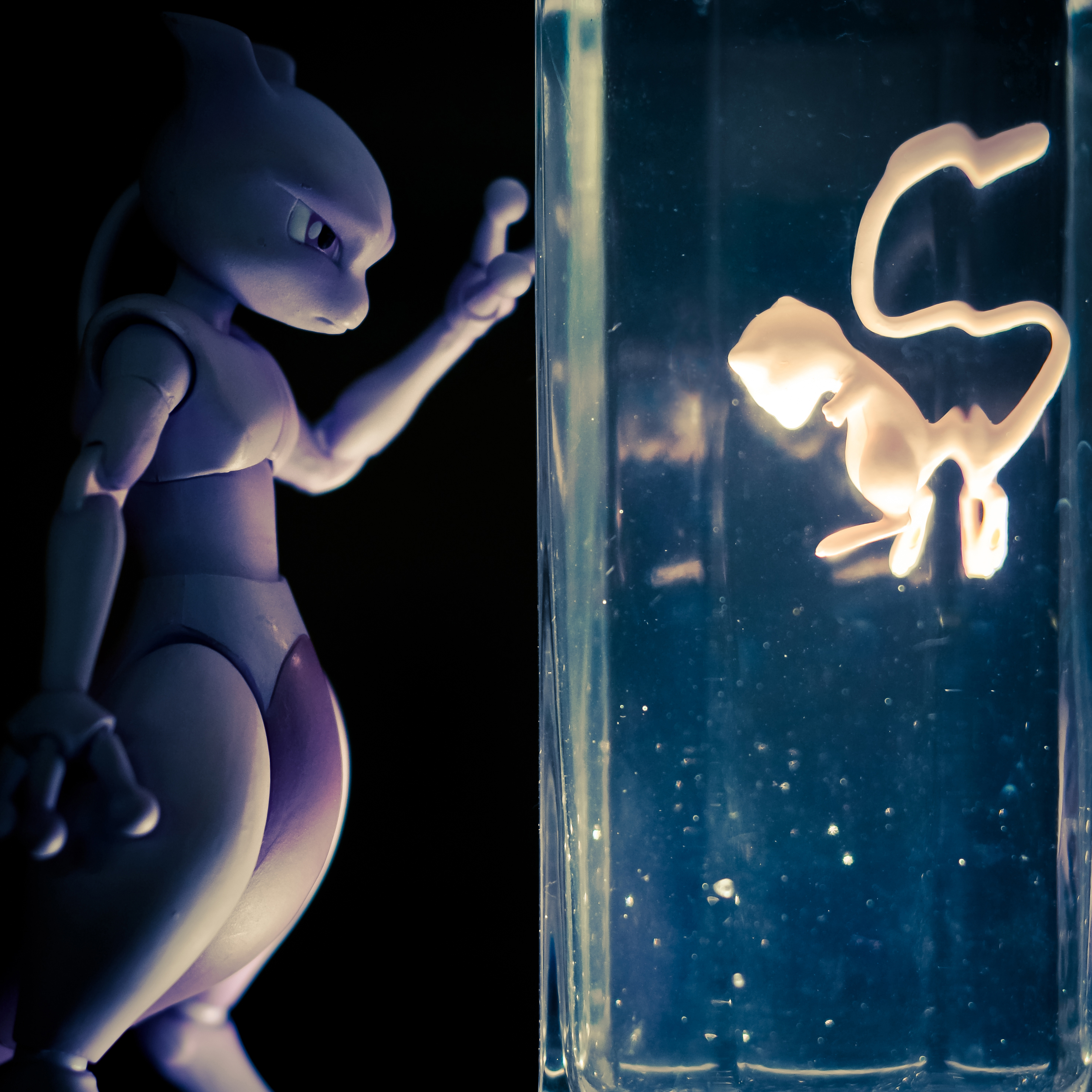 pocket_monsters bandai mew d-arts mewtwo psychic