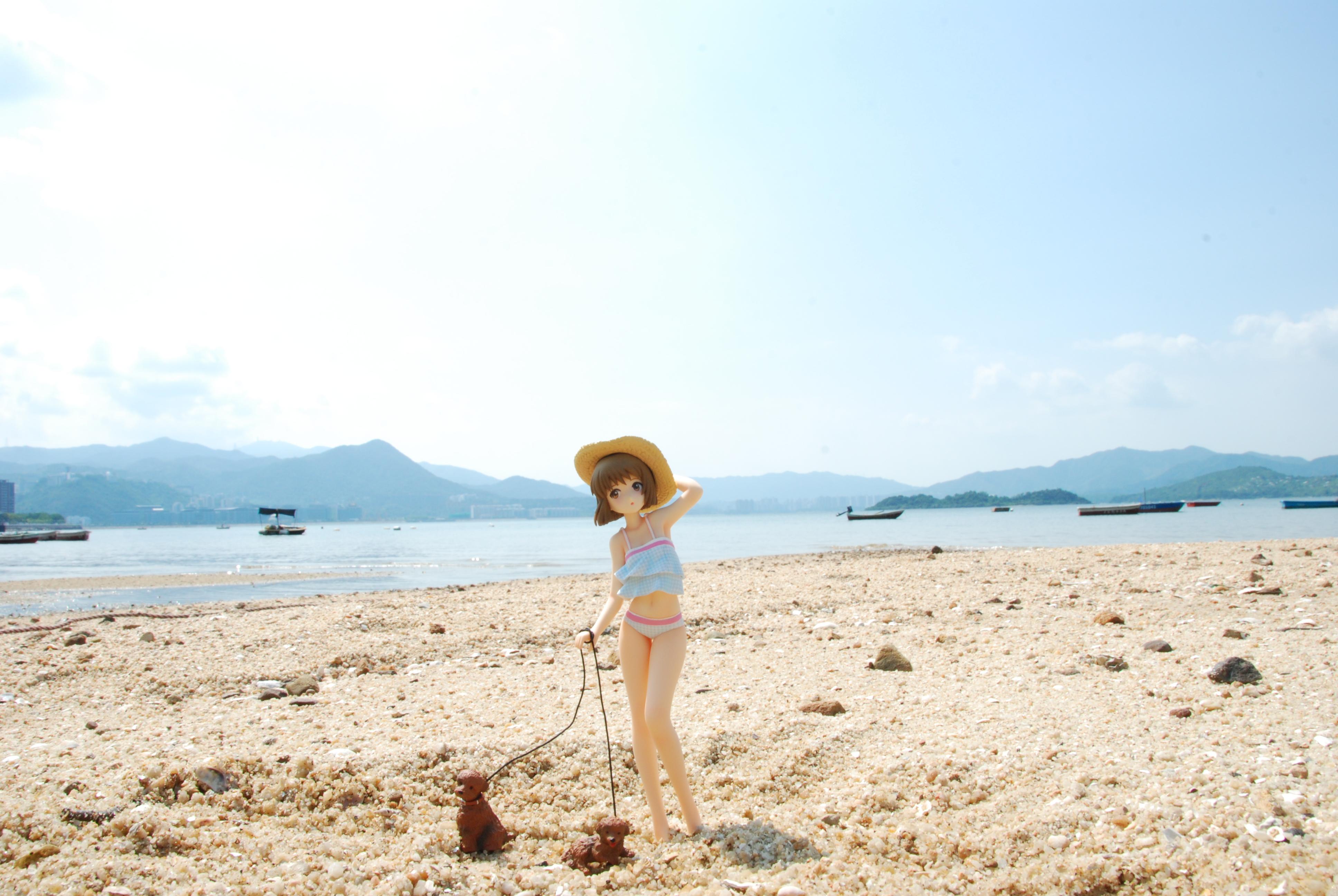 wave hagiwara_yukiho beach_queens mazaki_yuusuke the_idolmaster