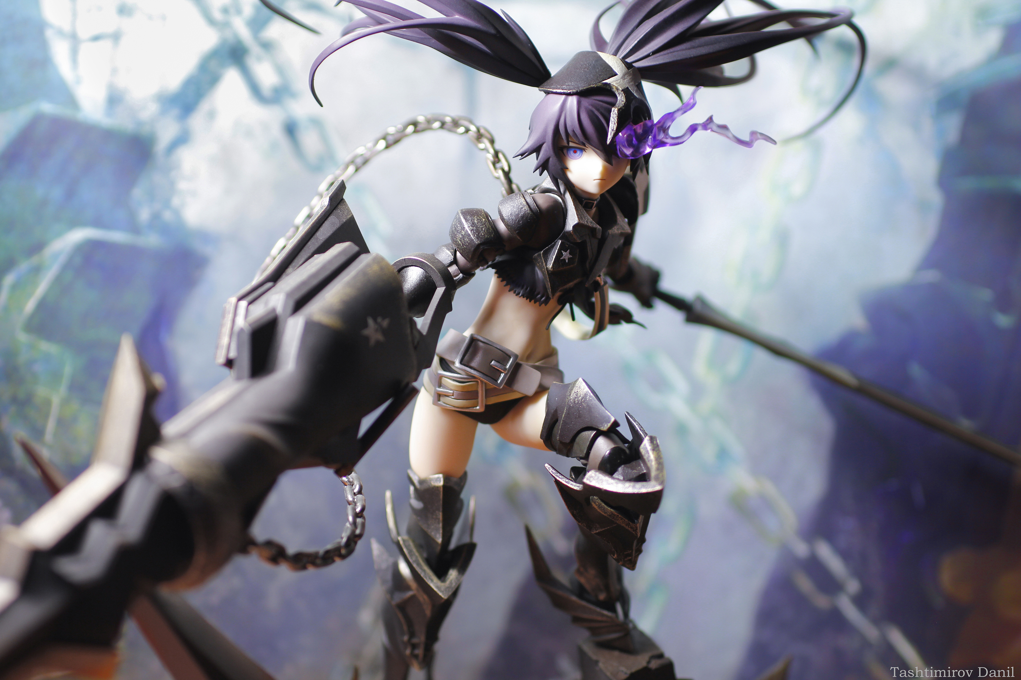 huke good_smile_company black_★_rock_shooter kiking insane_black_★_rock_shooter