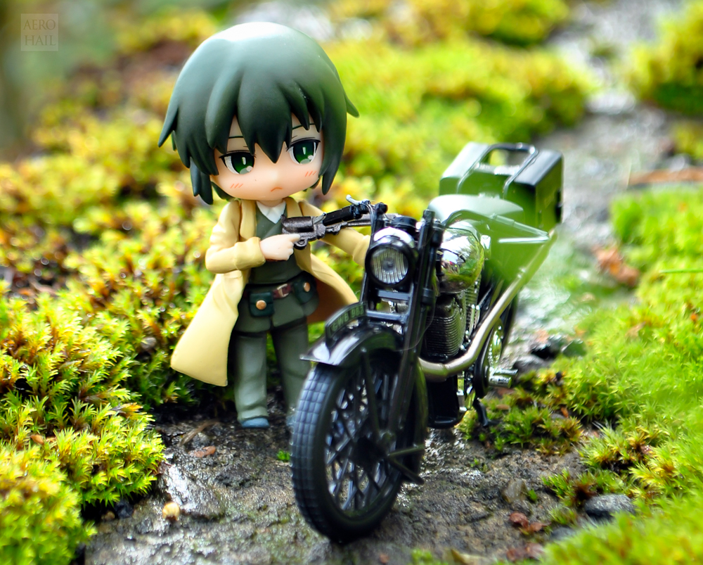 ascii_media_works kino toy's_works niitengo kino_no_tabi_-the_beautiful_world- heroine_blitz_figure_collection