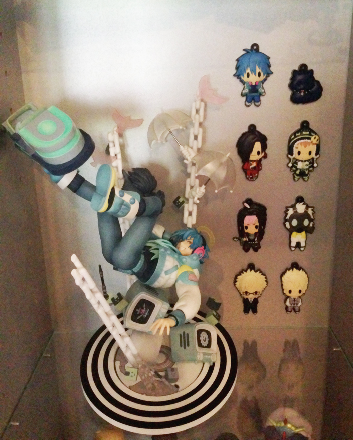 clear max_factory virus ren nanako nitro+chiral rubber_strap empty d4_series trip mink dramatical_murder noiz koujaku seragaki_aoba dramatical_murder_rubber_key_ring_collection