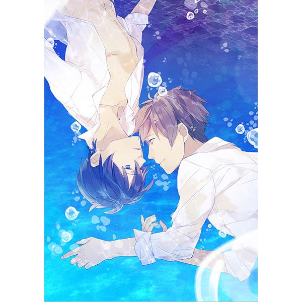 artbook doujinshi takamura kyoto_animation free! ooji_kouji moira