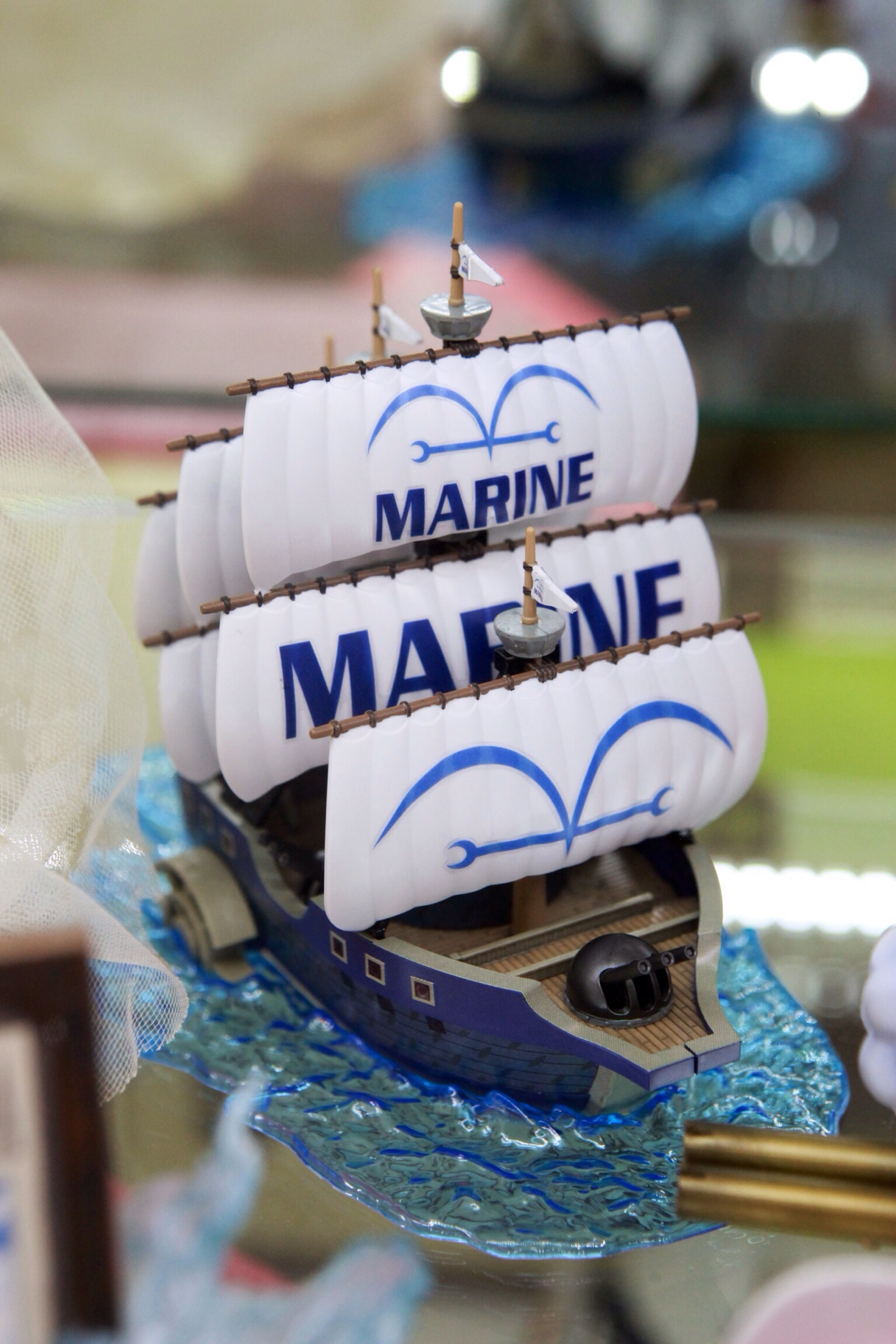 one_piece bandai one_piece_grand_ship_collection