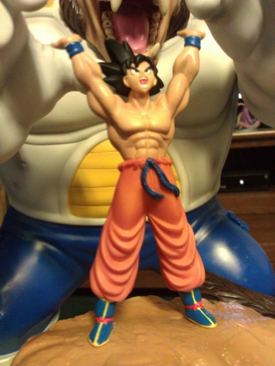 banpresto son_goku dragon_ball_kai ichiban_kuji oozaru_vegeta ichiban_kuji_dragon_ball_kai_~taiketsu_hen~