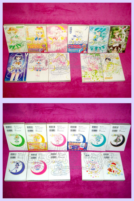 comics bishoujo_senshi_sailor_moon kodansha takeuchi_naoko shinsouban