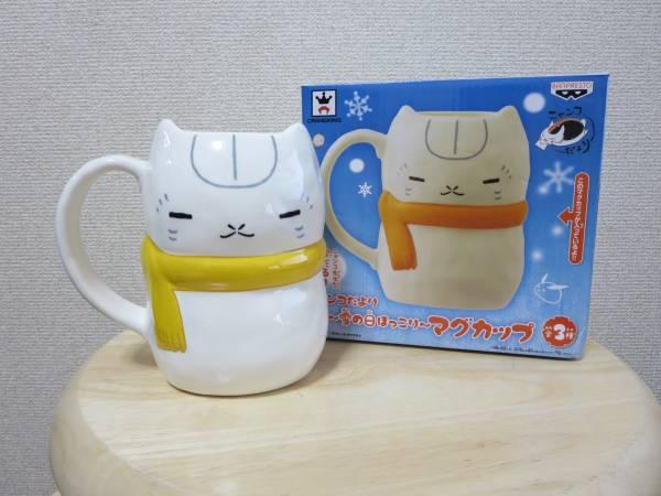 mug banpresto natsume_yuujinchou madara_(nyanko-sensei) natsume_yuujinchou_itsuka_yuki_no_hi_ni