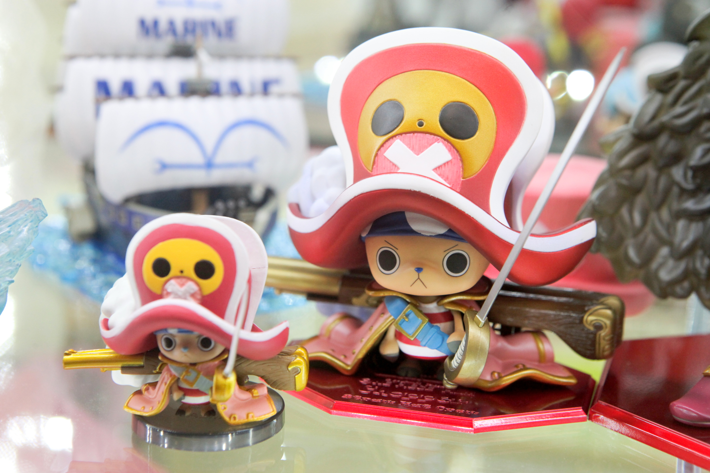 "megahouse one_piece banpresto bandai excellent_model tony_tony_chopper world_collectable_figure jyango one_piece_grand_ship_collection one_piece_film_z one_piece_world_collectable_figure_~one_piece_film_z~_vol.2 portrait_of_pirates_""edition-z"""