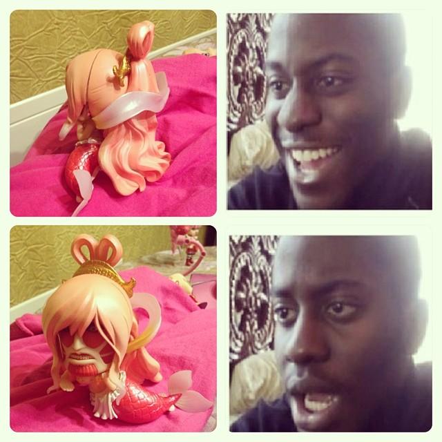 nendoroid one_piece good_smile_company bandai shueisha nendoron oda_eiichiro chibi-arts kodansha toei_animation shirahoshi megalo shirasaki_isao shingeki_no_kyojin isayama_hajime colossal_titan