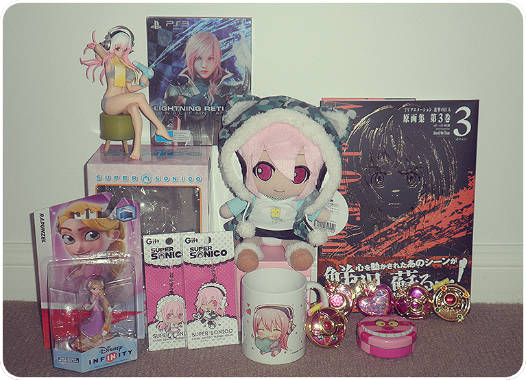square_enix gift mug artbook bandai compact sonico nitroplus nomura_tetsuya nitro_super_sonic rubber_strap bishoujo_senshi_sailor_moon furyu kodansha toei_animation takeuchi_naoko pony_canyon sonicomi ps3_game settei_shiryoushuu yupon lightning_returns:_final_fantasy_xiii shingeki_no_kyojin isayama_hajime tsuji_santa sailor_moon_20th_anniversary_compact_gashapon