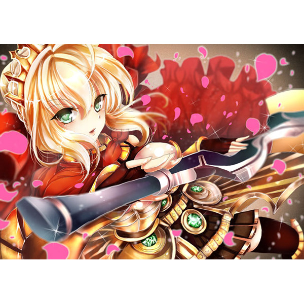 type_moon artbook fate/stay_night doujinshi fate/extra yuki_kana sosl marvelous_aql